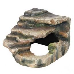 Trixie Rocher d'angle avec grotte et plateforme