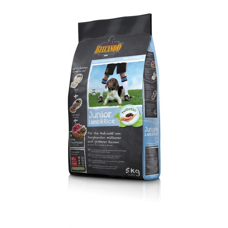 Croquettes chien Belcando Junior Lamb & Rice