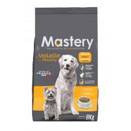 Croquettes Mastery Adulte Volaille 8 kg