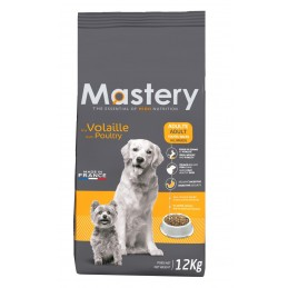 Croquettes Mastery Adulte Volaille 12 kg