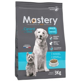 Croquettes Mastery Adulte Canard 3 kg