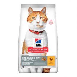 Hill's Adulte Stérilisé Poulet 1.5 kg