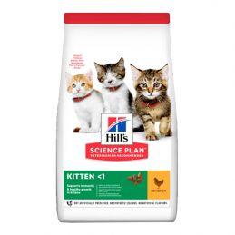 Hill's Chaton au poulet  HILL'S  Croquettes Hill's