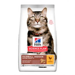 Hill's Mature Hairball Indoor Poulet 2.5 kg