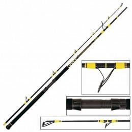 Canne passion pro dx spin 2.70 m 60 - 200 g black cat BLACK CAT 4029569175475 Cannes à silure