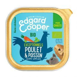 Pâté Edgar Cooper Poulet & Poisson Edgar Cooper 5425039486475 Paté pour chien