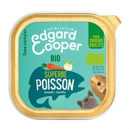 Pâté Edgar Cooper Superbe Poisson  Edgar Cooper 5425039486468 Paté pour chien