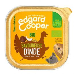 Pâté Edgar Cooper Savoureuse Dinde  Edgar Cooper 5425039486451 Paté pour chien