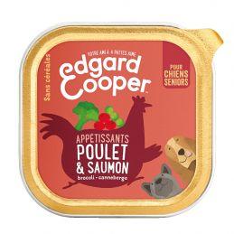 Pâté Edgar Cooper Poulet et Saumon  Edgar Cooper 5425039486437 Paté pour chien