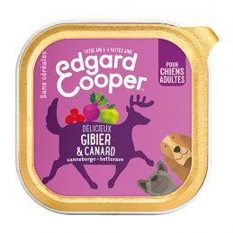Pâté Edgar Cooper Gibier et Canard Edgar Cooper 5425039486406 Paté pour chien