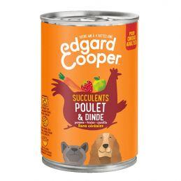 Pâté Edgar Cooper Poulet & Dinde  Edgar Cooper 5425039486376 Paté pour chien