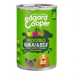 Pâté Edgar Cooper Agneau & Boeuf Edgar Cooper 5425039486352 Paté pour chien