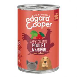 Pâté Edgar Cooper Poulet & Saumon  Edgar Cooper 5425039486345 Paté pour chien