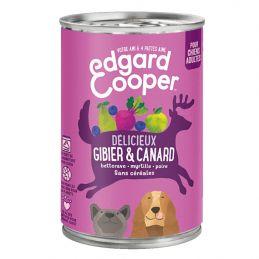 Pâté Edgar Cooper Gibier & Canard  Edgar Cooper 5425039486338 Paté pour chien