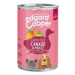 Pâté Edgar Cooper Canard & Poulet  Edgar Cooper 5425039486321 Paté pour chien