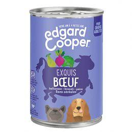 Pâté Edgar Cooper Exquis Boeuf  Edgar Cooper 5425039486314 Paté pour chien
