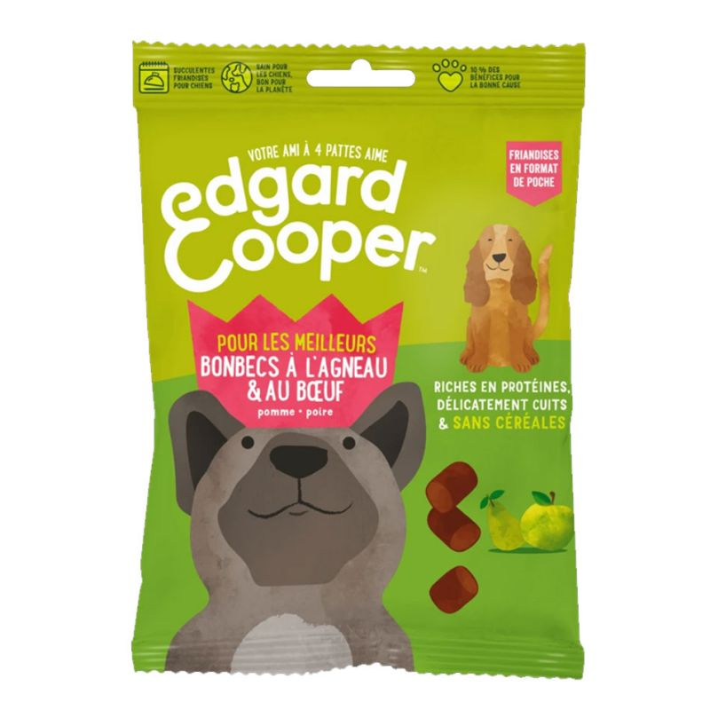 Edgar & Cooper  Bombecs à l'agneau&boeuf