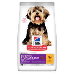 Hill's Small & Mini Sensitive Stomach & Skin Poulet 3 kg