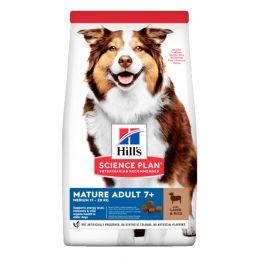 Hill's Medium Mature 7+ Agneau & Riz 12 kg