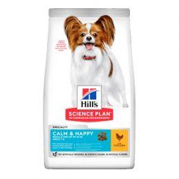 Hill's Small & Mini Calm & Happy Poulet 5 kg
