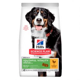 Hill's Large breed 5+ Youthful Vitality Poulet 12 kg