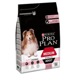 Pro Plan Medium Adult Sensitive Skin 3kg PRO PLAN 7613035114777 Croquettes ProPlan