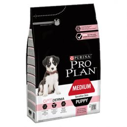 Pro Plan Medium Puppy Sensitive Skin 3kg PRO PLAN 7613035114838 Croquettes ProPlan