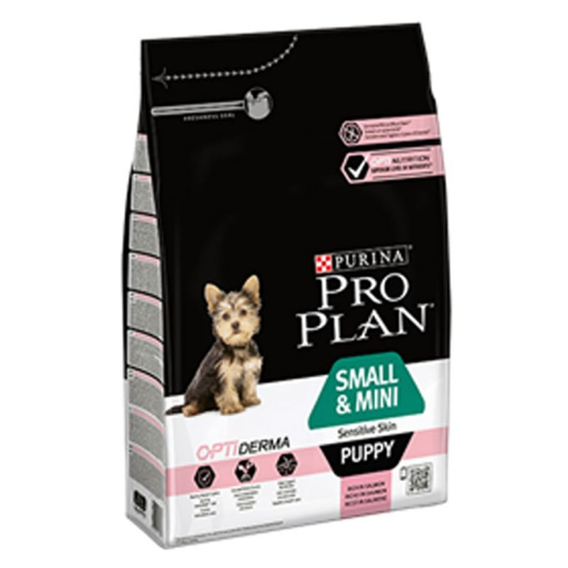Pro Plan Small & Mini Puppy Sensitive Skin 700g PRO PLAN 7613035120747 Croquettes ProPlan
