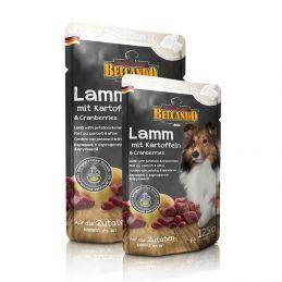 Sachet belcando Finest Sélection à l'agneau BELCANDO  Paté pour chien