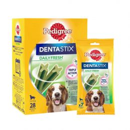 Pedigree Dentastix Daily Fresh Medium  PEDIGREE  Friandises