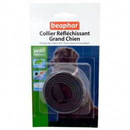 Beaphar Collier insectifuge réfléchissant Grand Chien BEAPHAR 3461922300079 Colliers