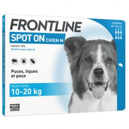 Frontline Spot On Chien 10-20 kg FRONTLINE  Pipettes