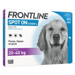 Frontline Spot On Chien 20-40 kg FRONTLINE  Pipettes