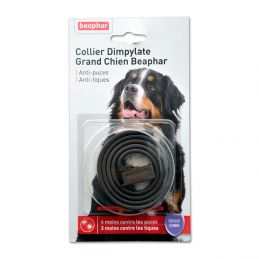 Collier Anti-puces grand chien Beaphar Dimpylate BEAPHAR  Colliers