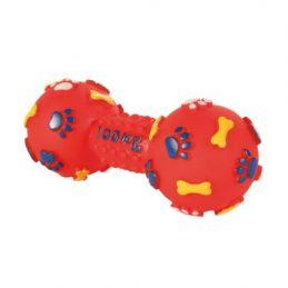 Trixie Haltère 'empreinte' en vinyle TRIXIE  Cordes, jouets à mordre