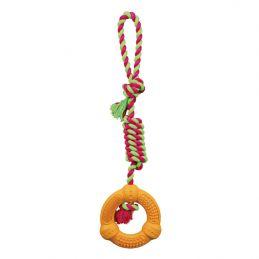 Corde Trixie Denta Fun avec anneau TRIXIE 4047974331910 Cordes, jouets à mordre