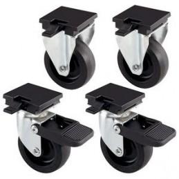 Ferplast Kit 4 roues L388 b FERPLAST 8010690115900 Accessoires caisses de transport