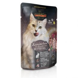 Terrine Leonardo Lapin & Canneberges LEONARDO 4002633756435 Boîtes, sachets pour chats