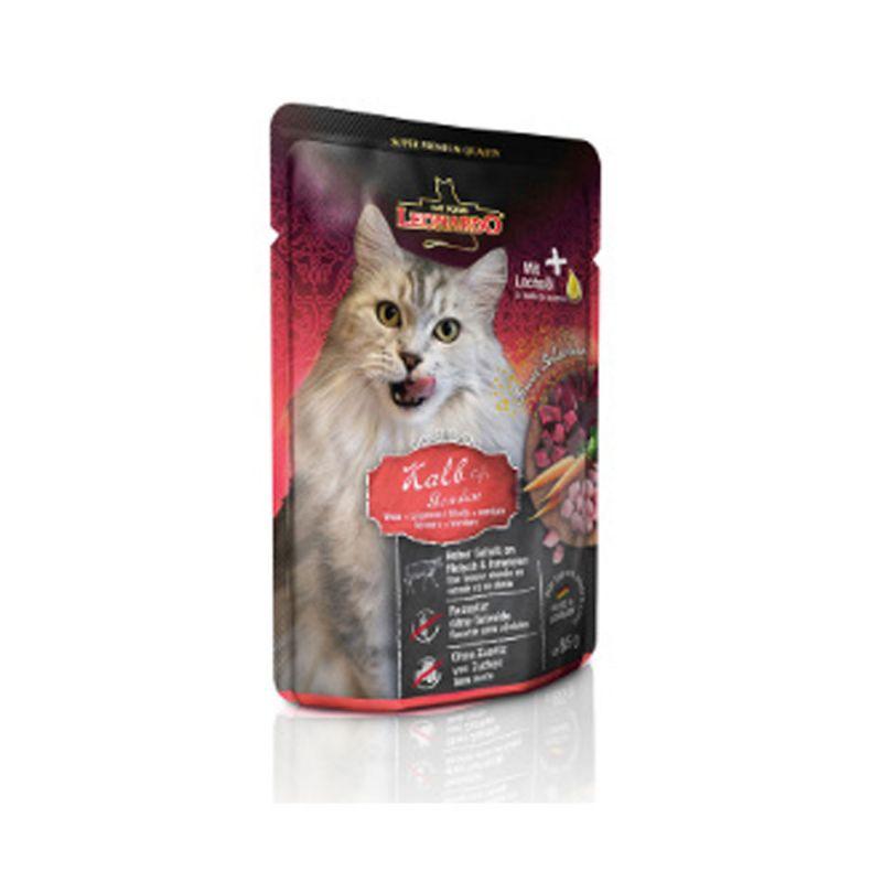 Terrine Leonardo Veau & Légumes LEONARDO 4002633756466 Boîtes, sachets pour chats