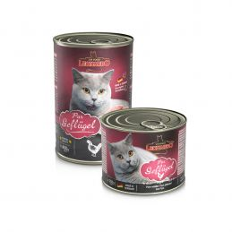 Pâtée Leonardo pure Volaille LEONARDO  Boîtes, sachets pour chats