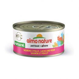 Terrine Almo Nature Legend Saumon & poulet ALMO NATURE 8001154007657 Boîtes, sachets pour chats