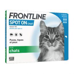 Frontline Spot On Chat FRONTLINE  Pipettes et spray
