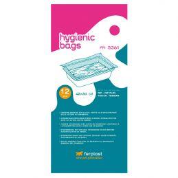 Sac hygiénique pour litière Ferplast FPI 5361 FERPLAST 8010690033655 Litières et accessoires