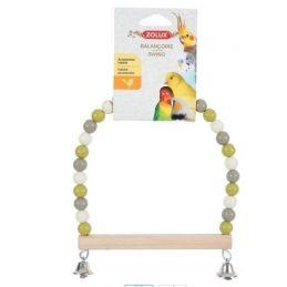 Balançoire Swing en perle et bois Zolux ZOLUX 3336021340106 Perchoirs
