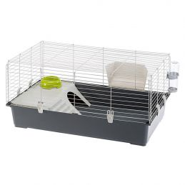 Cage à lapin Ferplast Rabbit 100 FERPLAST 8010690070735 Cage & Transport