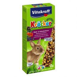 Vitakraft Kräcker Lapins Nains Aux Fruits des bois & baies de sureau VITAKRAFT VITOBEL 4008239250049 Friandise & Complément