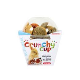 Crunchy Cup Luzerne & Carotte Zolux ZOLUX 3336022092578 Friandise & Complément