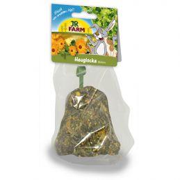 JR Farm Cloche de foin aux fleurs JR FARM 4024344081491 Friandise & Complément