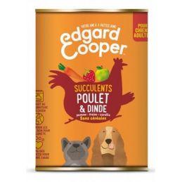Pâté Edgar Cooper Poulet & Dinde