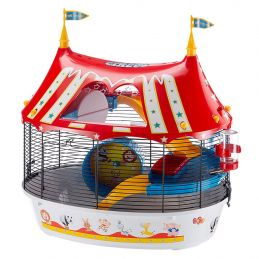 Ferplast cage pour hamster Circus Fun  FERPLAST 8010690100678 Cage & Transport